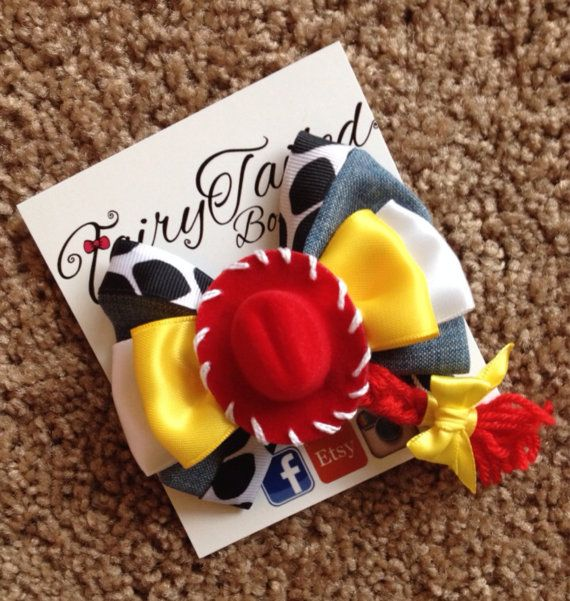 Toy Story 2 Inspired Jessie Cowgirl Hair by FairyTailedBoutique