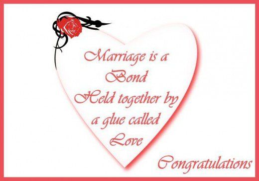 Congratulations for a wedding: Messages, poems and quotes for ...
