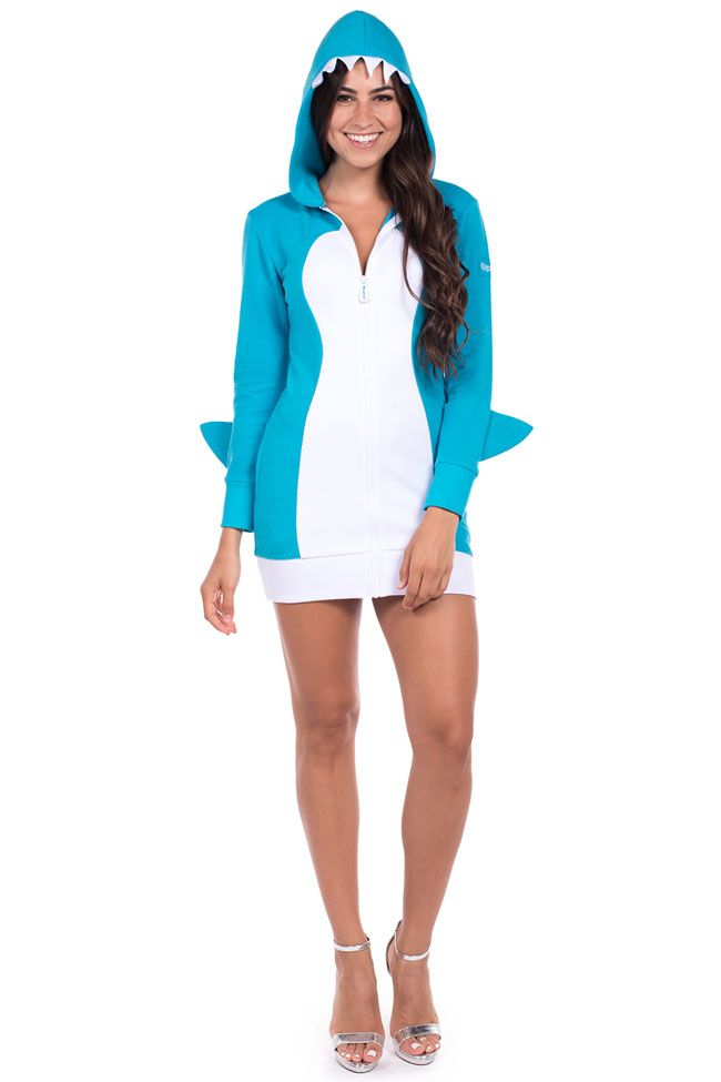 Women's Shark Dress Costume | Tipsy Elves