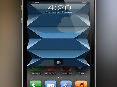 iPhone Unlock - Fold-concept