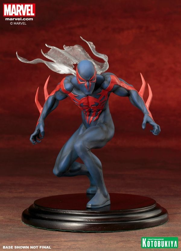 Spider-Man 2099 ArtFX+ Statue From Kotobukiya #Marvel
