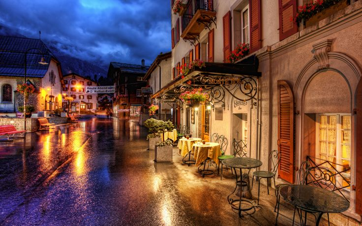 Romantic Evening in the Alps - Trey Ratcliff