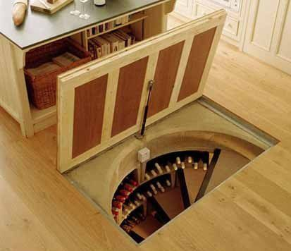 I want to build something like this in my next house... Wonder what Sorrells and Gunn would think about this idea :)