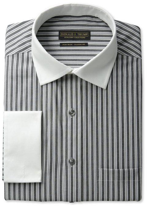 Donald Trump 100% Cotton Striped Shirt