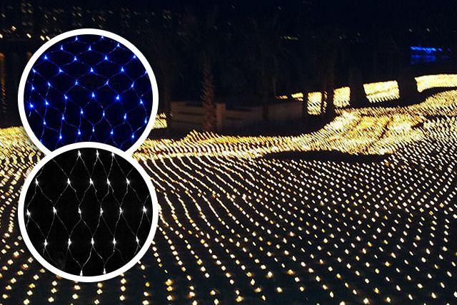 100 Bulb LED Garden Light Net