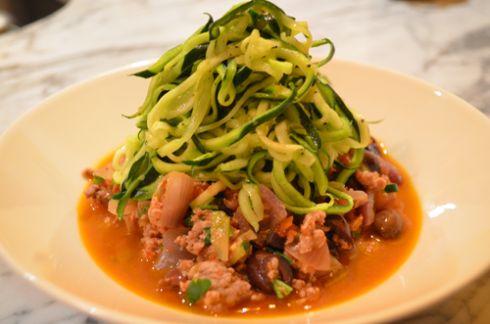 "New ♥: Gefu Spirelli Spiral Slicer (and Super Simple Lamb+Olive ""Bolognese"" w/Zucchini ""Pasta"") | eat. live. paleo."
