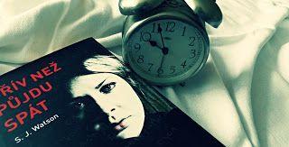 Můj knižní ráj: Recenze: Dřív než půjdu spát