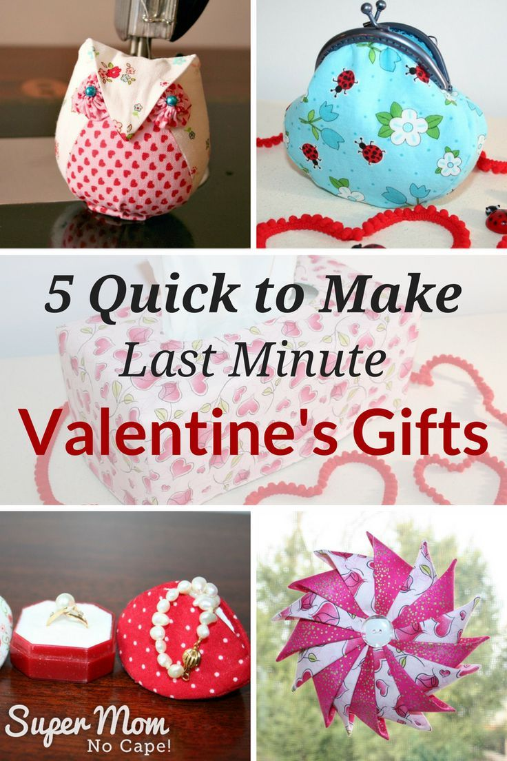 5 Quick to Make Last Minute Valentine's Gifts from Super Mom - No Cape! via @susanflemming