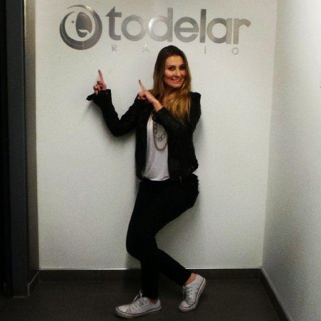 Nuestra @Paulina Laponte #OnTheTodelar