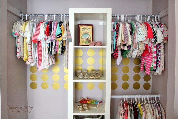 Imágenes geniales para poner orden en el armario de los niños. Trucos e ideas que te dejan con la boca abierta.