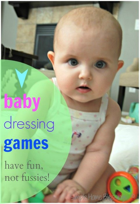 Struggling to get your wiggly little ones dressed? Try these simple dressing games for babies to have lots of fun while getting dressed.