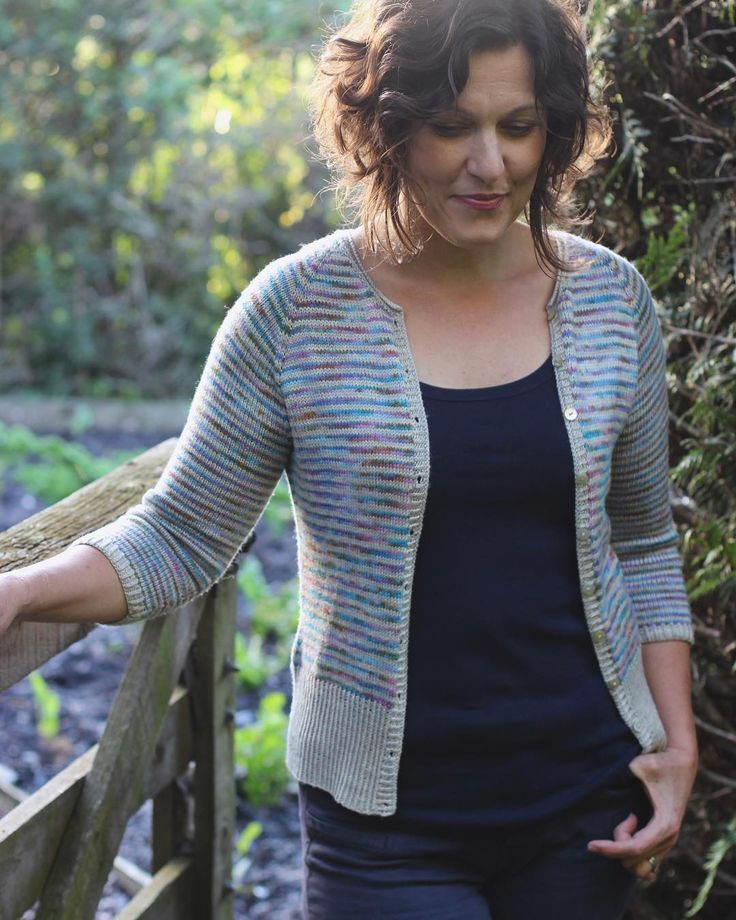 Are you joining the #timelycardigan knit along? We'd love it if you did! . The KAL kicks off on 1 July for two months - head over to the Truly Myrtle Rav group to meet everyone show off your stripes and knit with friends  there's a link in my bio