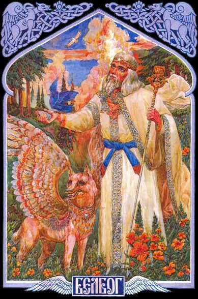 Debunking Common Myths About Solar Energy Belobog - Belobog, which, translated into English, means White god, was said to fight his evil brother Chernobog (Black God) twice a year for control of that year, with Belobog gaining control of the waxing half of the year and Chernobog control of the waning half. After the winter equinox day becomes longer  Belobog wins, and after the summer equinox it shortens  Chernobog wins. Each equinox has a celebration associated with it: the winter equ...