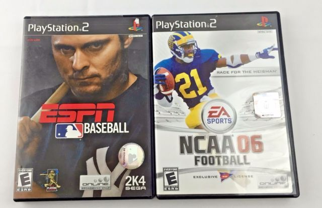 PlayStation 2 Sports Games NCAA Football ESPN Baseball | eBay