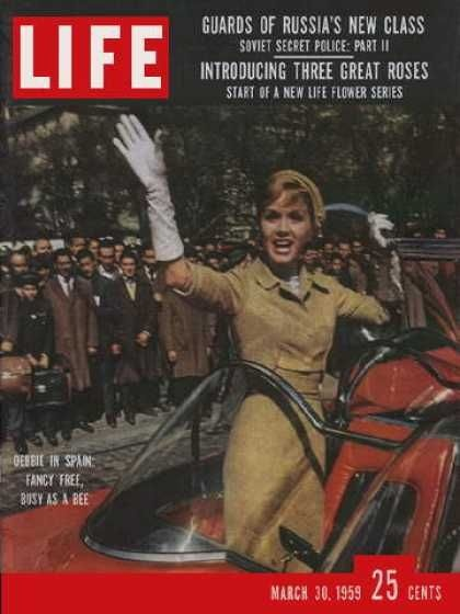 Debbie Reynolds - Life Magazine [United States] (30 March ...