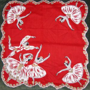 Sharon's Antiques Vintage Fabrics - Vintage Novelty Hankies
