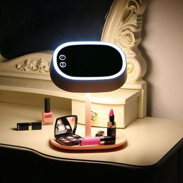 USB recarregável espelho com lâmpada LED lâmpada de mesa com lâmpada LED lâmpada de mesa lâmpada de mesa lâmpada de mesa [#}]