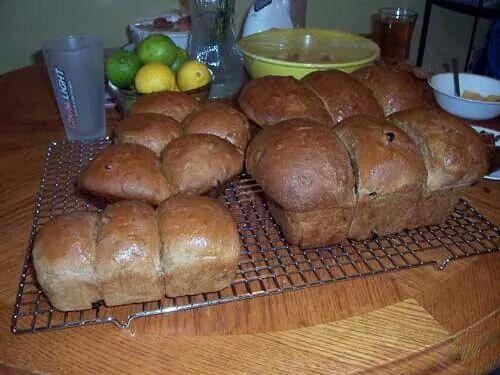 Nfld raisin sweet bread