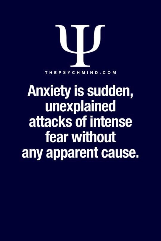 psychology anxiety disorders Learn more about anxiety disorders, including types, causes,  send you to a psychiatrist, psychologist, or another mental health specialist.