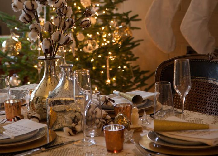 le réveillon | Christmas eve dinner, Table decorations ...