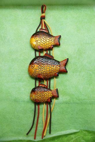 Подвеска рыбы - декоративное панно