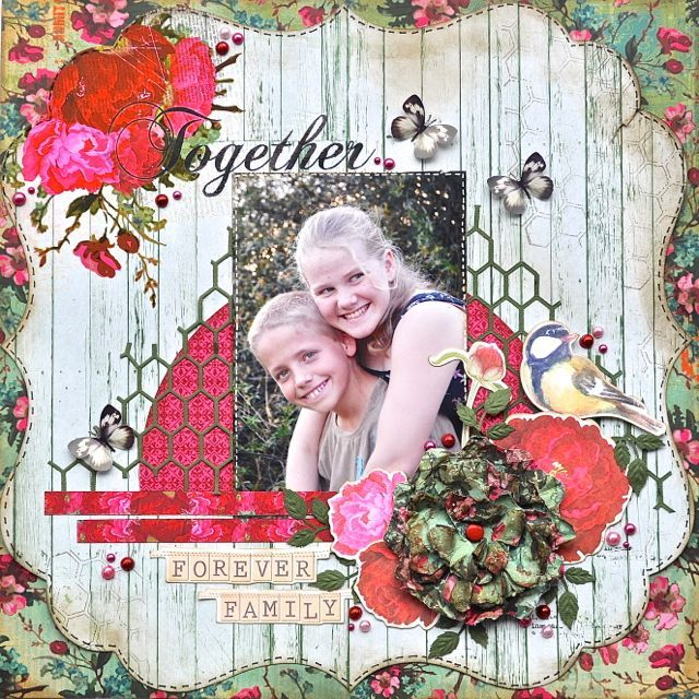 Made using the Telegraph Road Collection from Kaisercraft. By Kelly-ann Oosterbeek.