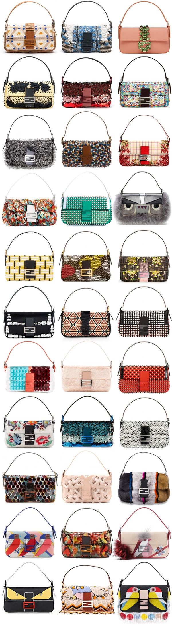 FENDI BAGUETTE // The Perfect Collectors Obsession! Women's Handbags & Wallets - amzn.to/2j9xWYI Clothing, Shoes & Jewelry : Women : Handbags & Wallets http://amzn.to/2lvjsr9
