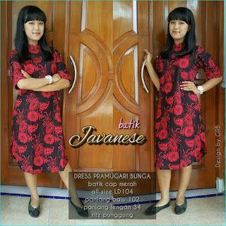 Baju Batik Kerja Wanita, Grosir Batik Solo, Baju Batik Pria: Baju Natal 2016, Dress Natal, Dress Batik