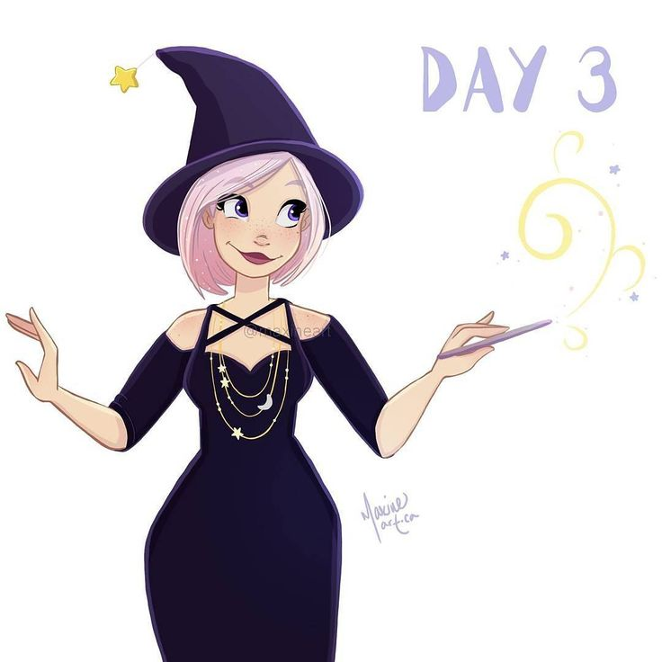 """927 Likes, 45 Comments - Maxine Munroe (@maxineart) on Instagram: """"Witch-tober day 3 🎃 What kind of witch do you want to see this month? I'm going to try and get some…"""""""
