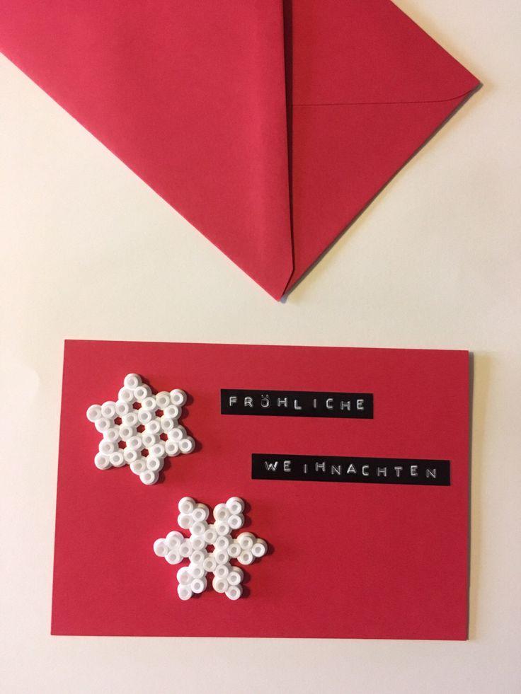 Ein persönlicher Favorit aus meinem Etsy-Shop https://www.etsy.com/de/listing/486292877/weihnachtskarte-mit-schneeflocken-aus