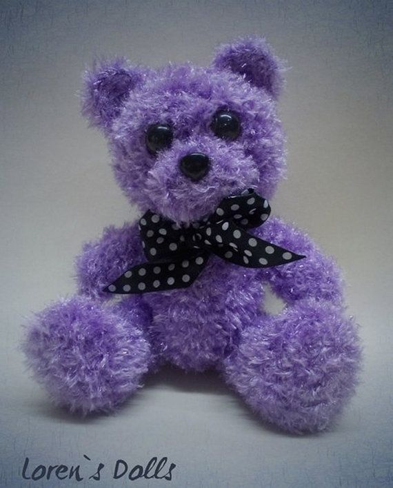 Crochet Teddy Bear by LorensDolls on Etsy  #Bears  #Handknitted  #TeddyBear  #knitted   #knitting #stuffedbear  #knittedtoys  #beargift  #handknittedtoy  #handmadegift  #birthdaygift  #uniquegift  #LorensDolls