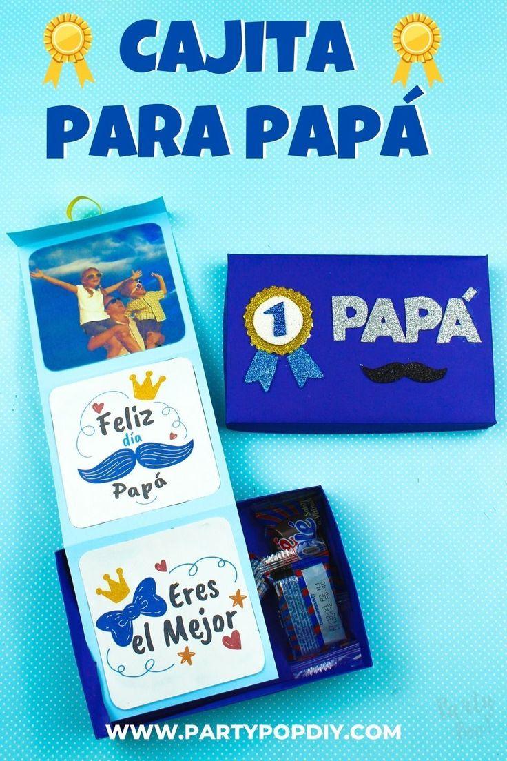 Caja por el día del padre #diadelpadre #cajitas #caja #regalos #manualidades #papá Baby Shower, Diy, Memes, Anime, Cakes, Diy Gift Box, Sachets, Happy Day, Creative Crafts