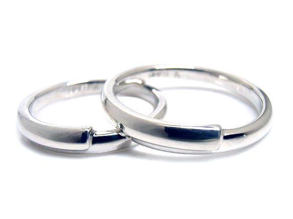 AMBRACE PT900 platinum ring stylish round curve プラチナ ペアリング スタイリッシュ ラウンド カーブ
