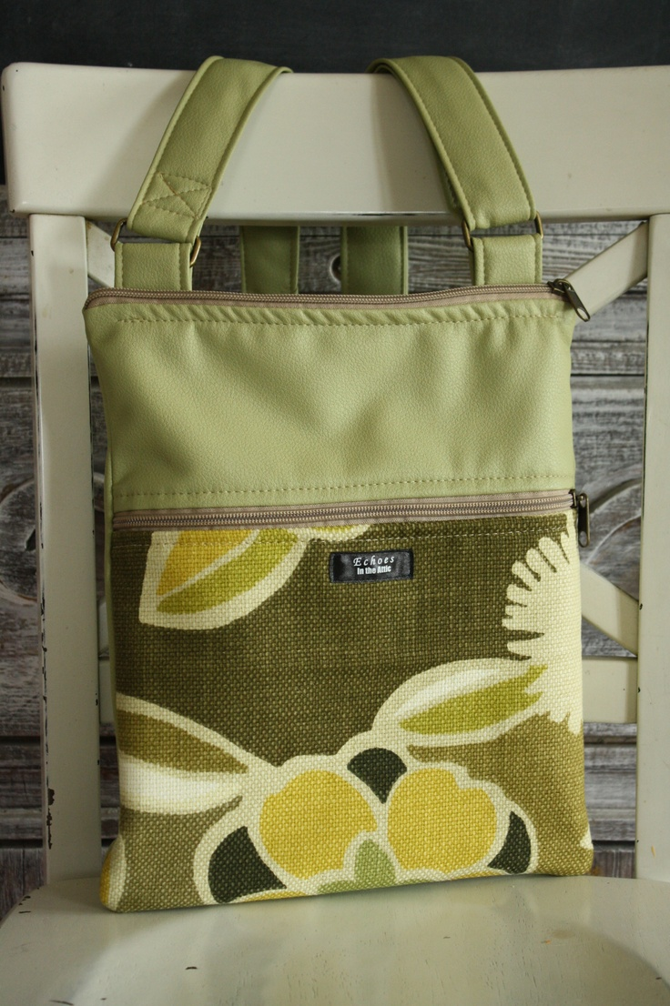 Upcycled XS textiles redesigned into a cross-body flat bag, instead of a mound of fabric in a landfill