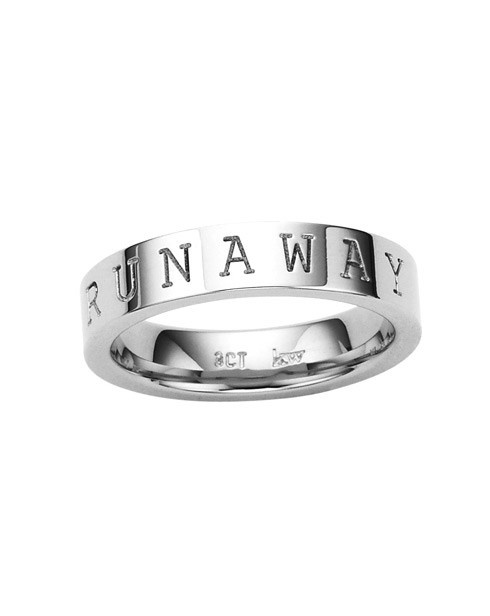 Runaway Stacker Ring in Silver - Karen Walker Jewellery - Shop by Designer