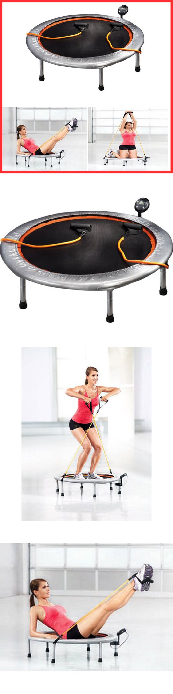 Trampolines 57275: 36 Mini Trampoline Gym Circuit Trainer Fitness Exercise Workout Cardio Rebounder -> BUY IT NOW ONLY: $33.58 on eBay!