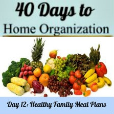 Healthy family meal plan (plus a whole-foods recipe for dinner!)