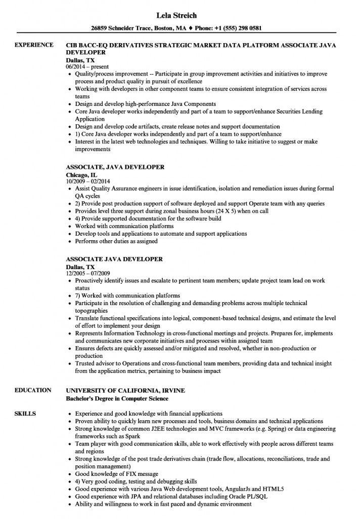 Core Java Developer Resume Sample 2021 Corejavadeveloperresumesample Corejavadeveloperresumesampleforfreshe In 2021 Job Description Template Resume Position Words
