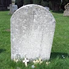 Siegfried Sassoon grave, Mells