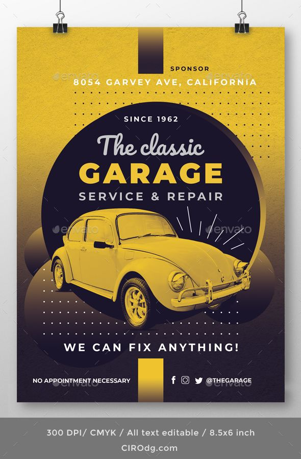 car services flyer template customizable professional template for