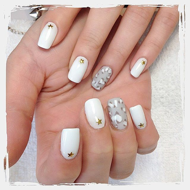 White, Silver and Sparkle Gel Nails?! 2016 Gel Nail Trends from Mirror Mirror Salon & Spa in Kelowna, BC.  We specialize in Biosculpture Gel Nails which have a 5 Star safety rating and help maintain the health and integrity of your delicate nails.   #2016nailtrends #kelownanails #kelownagelnails #nailtrends #nailart #gelnails #nailextensions #manicure #manicureideas #kelownaspa #kelownadayspa #nailsalon #biosculpture #biosculpturegel gelnails #nailtrends #nails #nailart #naildesign…