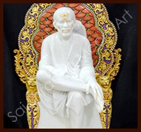 Sai Shradha Moorti Art offers a wide collection of Sai Baba Sculpture a synonym of universal love and acknowledged as the legendary figure of the spiritual world. These are made using quality marble stones, which are sourced from the trusted suppliers of the industry.