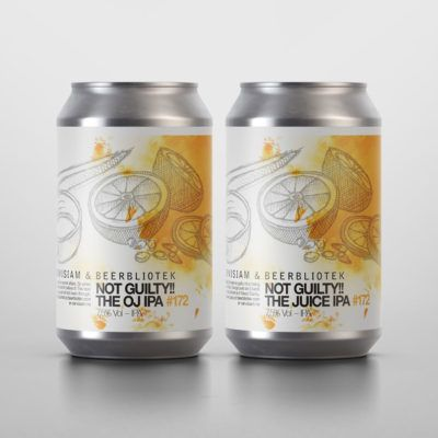 Beerbliotek |   Not Guilty! The Juice IPA.  The only thing this beer is guilty of is being filled with juicy Hops, Orange peel and loads of Oats, Wheat and flaked Barley.