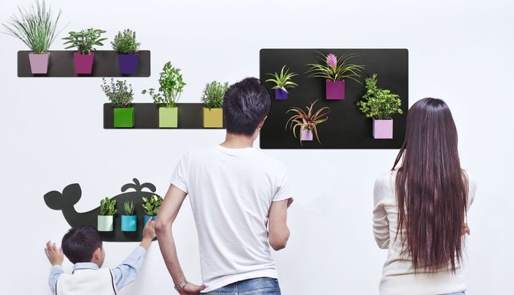Play with your family and friends! With KalaMitica magnetic pots, creating your vertical green becomes easy and fun.    Their magnets are strong and their material is 100% Made in Italy.