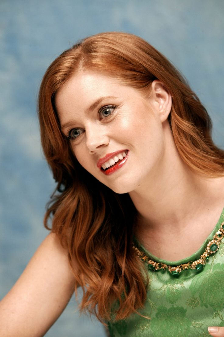 Amy Adams - Ginger is beautiful too