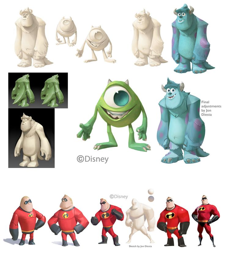 Concept Arts do game Disney Infinity | THECAB - The Concept Art Blog