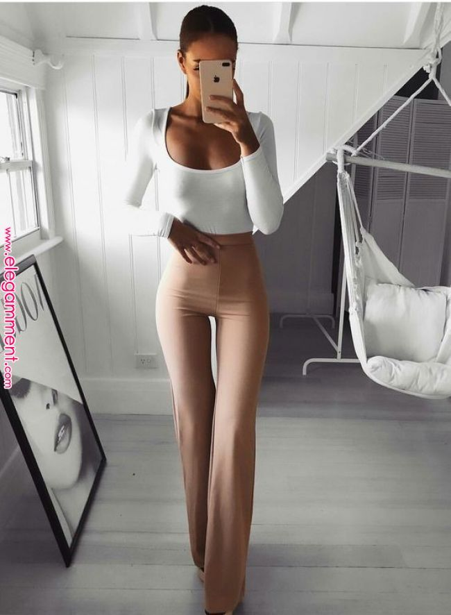 29 Pegged Pants Outfits that are Jawdroppingly Cheap Love this whole pegged pant…