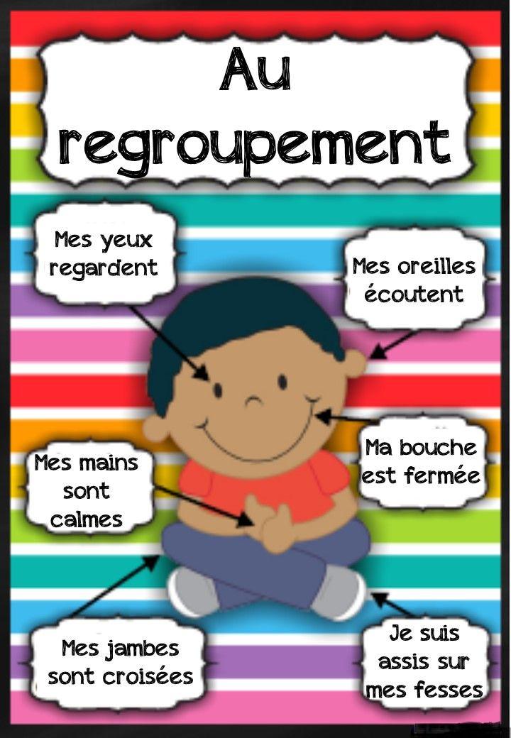 affichages pour la classe | Montessori | Classe maternelle ...