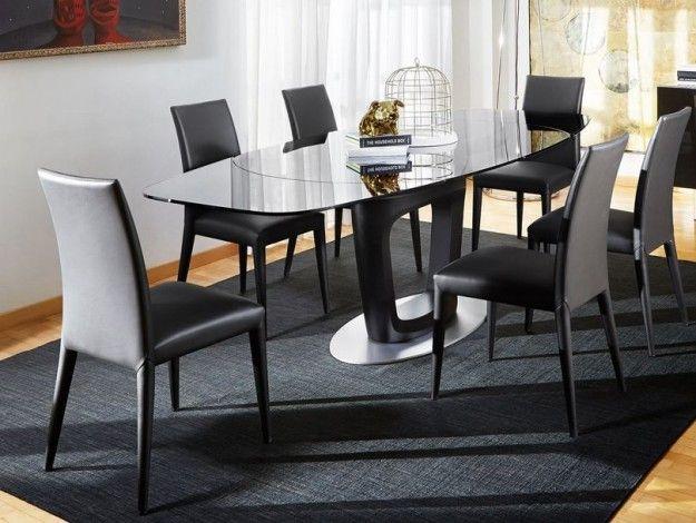 Sala da pranzo elegante - Come abbinare tavolo e sedie per una sala da pranzo moderna.