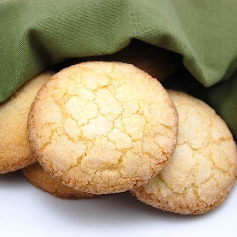 Soft sugary sugar cookies.